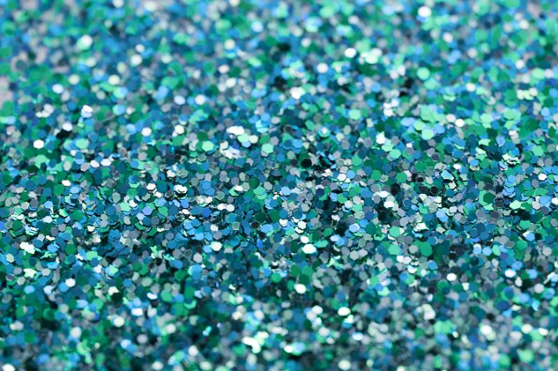 free image of cyan and green glitter
