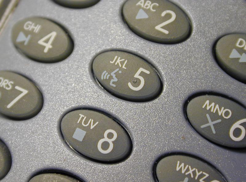 Free Image Of Telephone Keypad With Media Controls