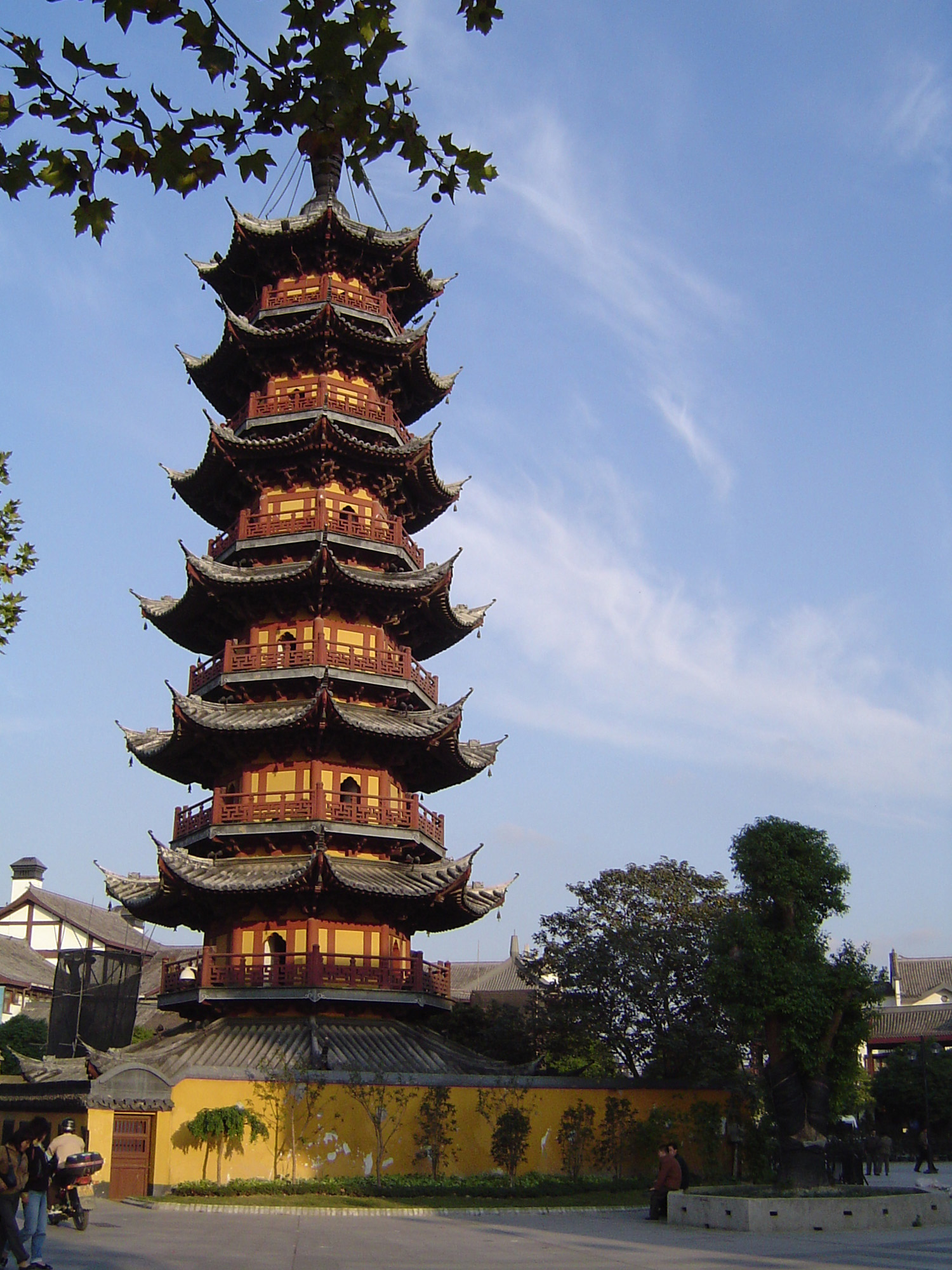 free image of traditional chinese pagoda