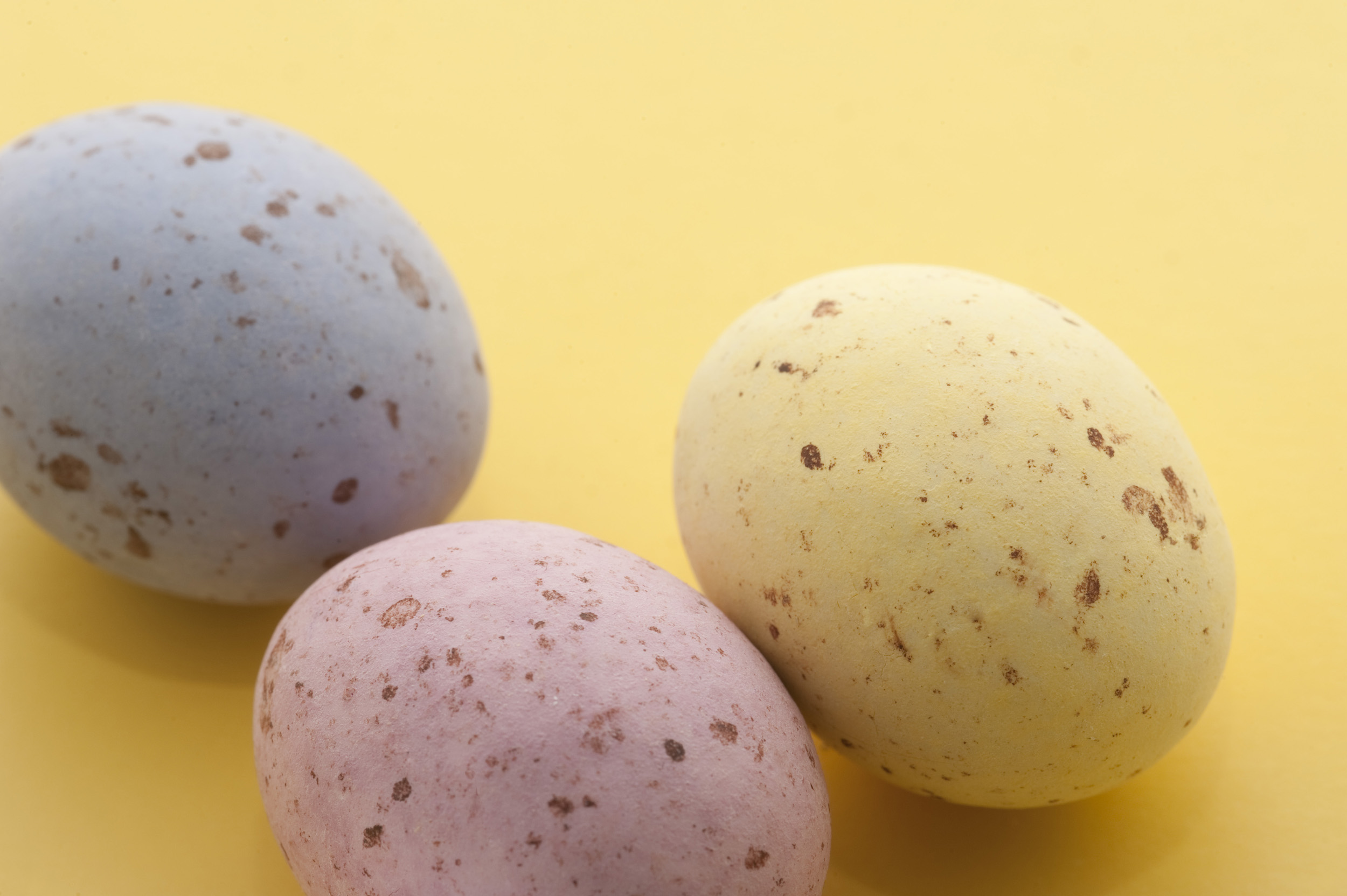 free image of speckled candy easter eggs