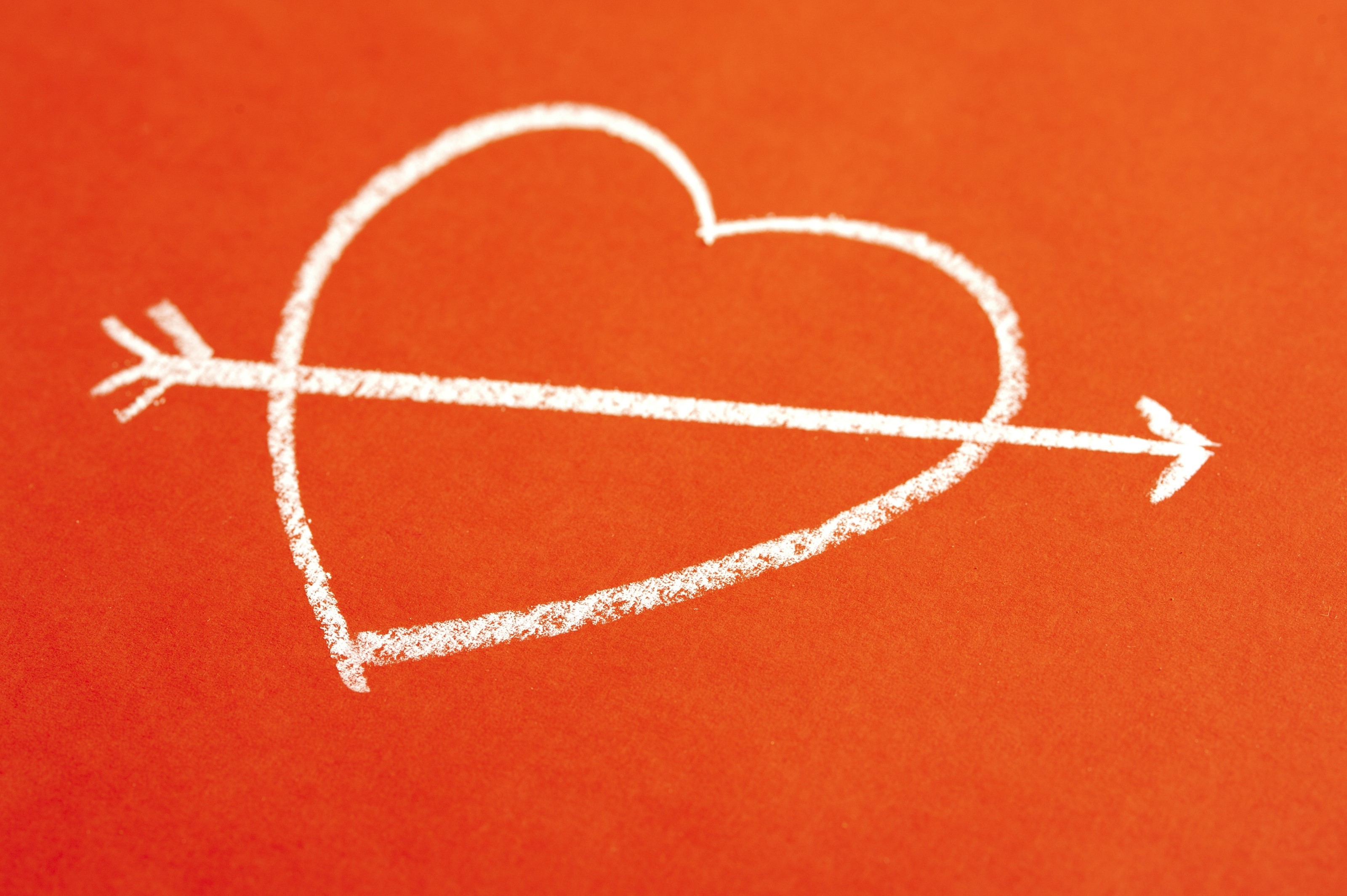 Free Image Of Love Heart And Arrow
