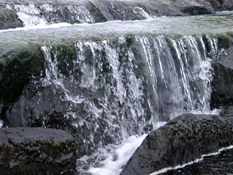 Free image of rocky waterfall for Waterfall environment