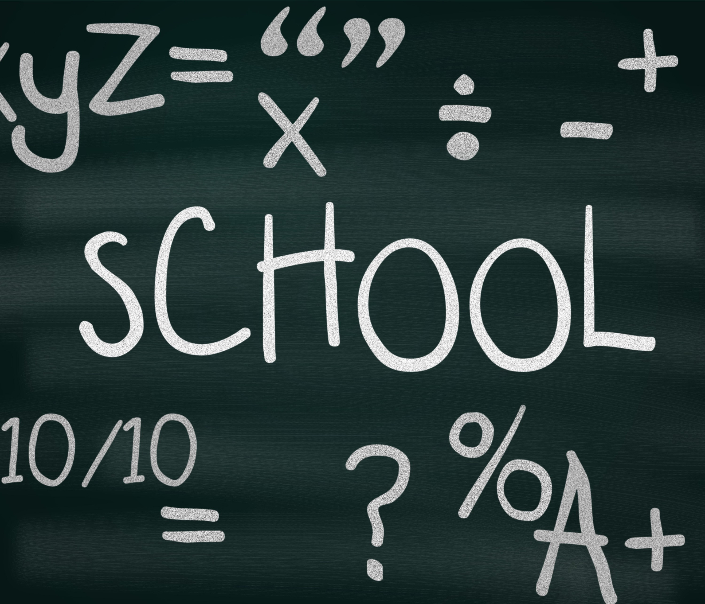 Free image of school blackboard with education symbols buycottarizona Image collections