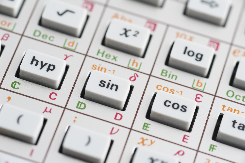 Free Image Of Scientific Calculator Keys