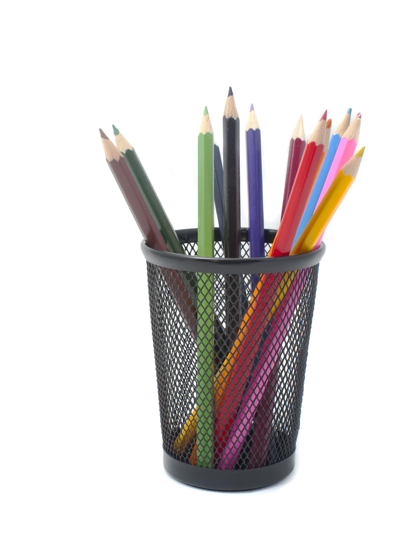 Pencil container design decoration