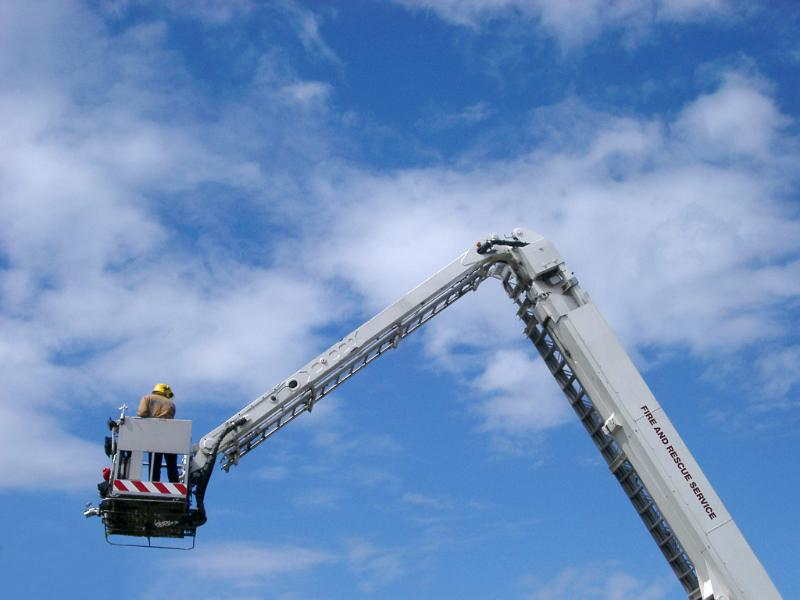 Engine Lift Arms : Free image of fire rescue platform