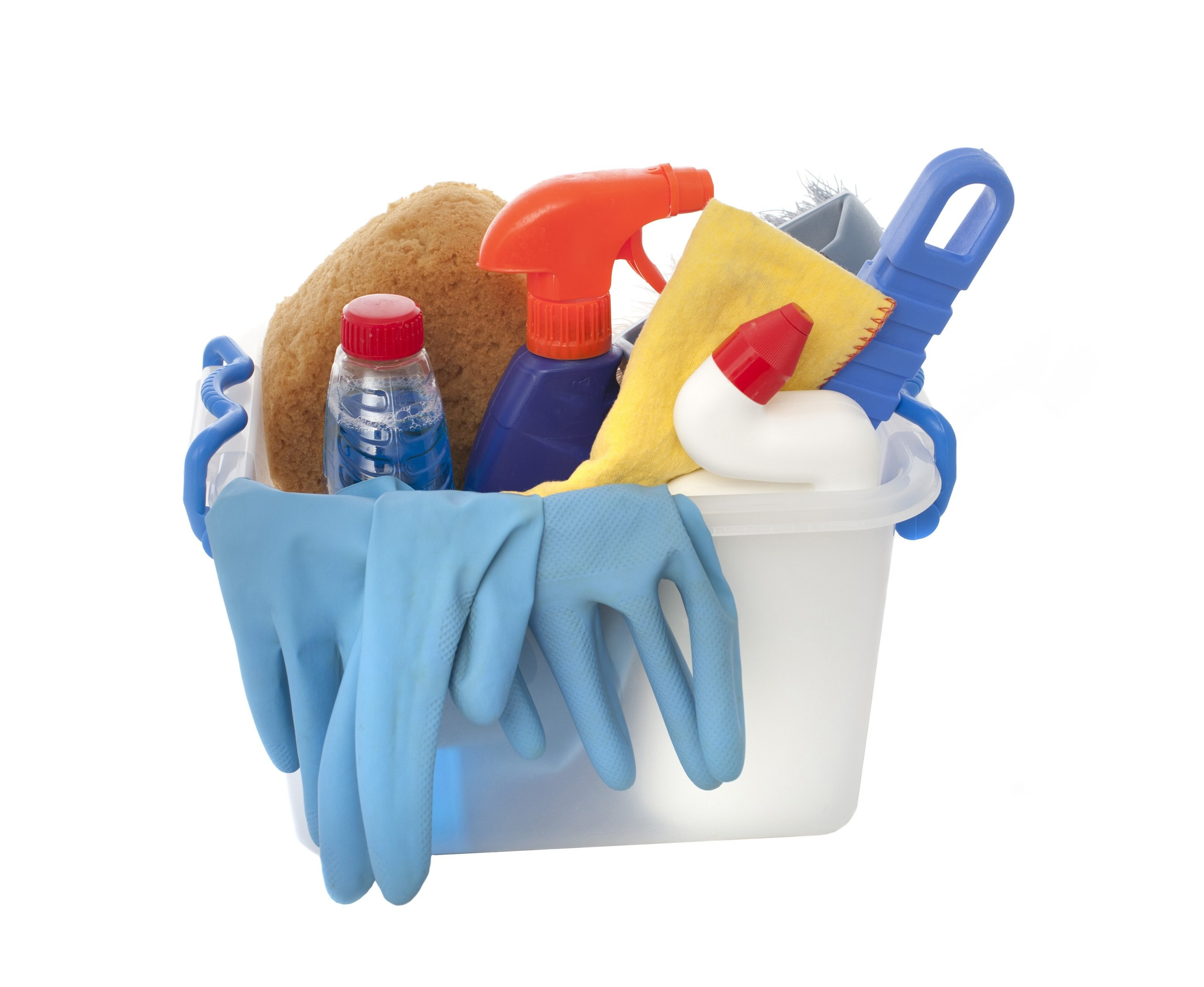 Free image of cleaning products